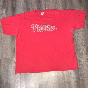 ❤️ DOPE PHILLIES RED COTTON XXL TEE SHIRT ❤️